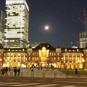 十三夜と東京駅丸の内駅舎