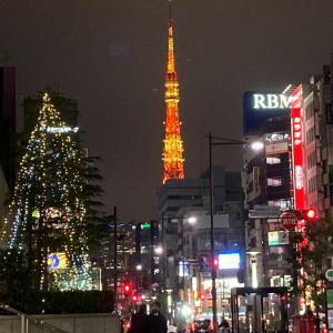 オレンジの東京タワー