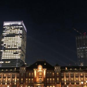 東京駅丸の内駅舎と矢場とんのみそかつ