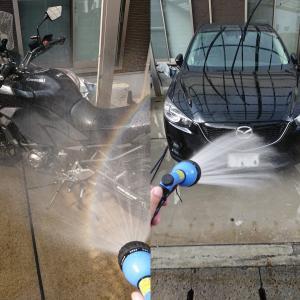 洗車したのに・・・