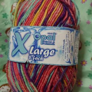 手編みのくつしたのお礼を頂く