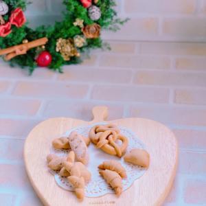 【残1】ジンジャーブレッドを作って飾ろう!クリスマスリースレッスン