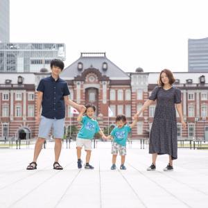 やっぱりステキ!東京駅でファミリーフォト