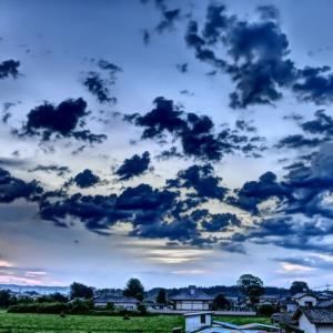 【2020年6月16日】夜空の雷。  / LSD練習&フィットネス (火曜日)