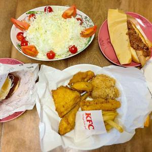 KFCとヨーグルトドレッシング