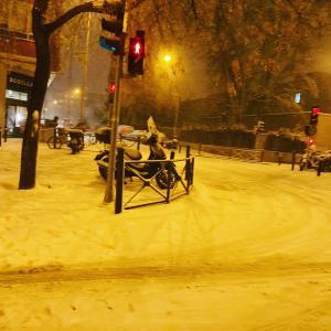 スペイン生活の中の驚き!!50年ぶりの50年ぶりの大雪