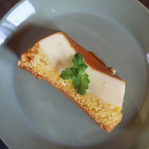 プルンプルン二層のプリンケーキ