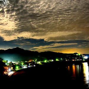 ふる里の夜景(柏崎市)