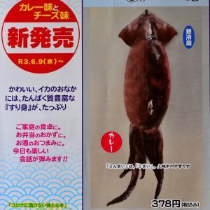 イカにすり身が入った「蒲鉾」(上越市の「魚住 かまぼこ店」)