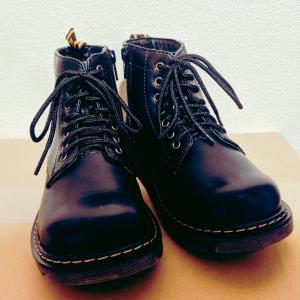 【レポ】HANG TEN  レースアップ ブーツ 18cm(キッズシューズ)