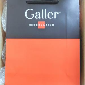 【レポ】ベルギー 王室御用達 Galler公式 クッキー3種♪