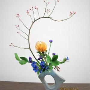 野バラ・・花は春・実は秋・秋色の自由花