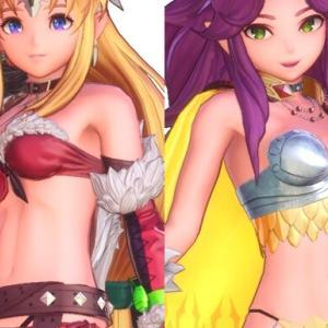 『聖剣伝説3』リースとアンジェラがエロいクラスチェンジでめちゃくちゃエロい衣装に!