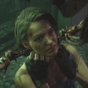 『バイオハザード RE:3』ジルが触手を無理やり口の中に挿入れられるエロいシーン!