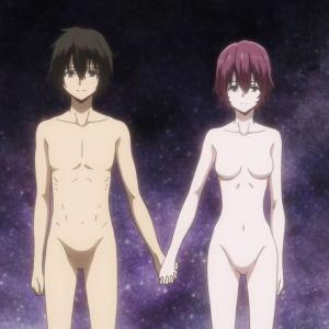 アニメ『グレイプニル』8話で女の子たちのエロい全裸姿やパンツ一丁のエロシーンなど!
