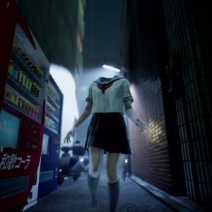 PS5新作タイトル『Ghostwire: Tokyo』首なし女子高生の妖怪のスカートの中は・・・