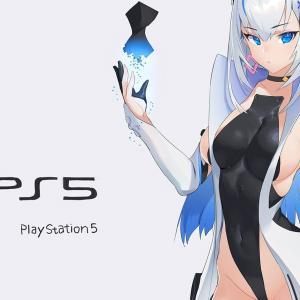 『プレイステーション5』がえっちな美少女に擬人化された二次創作イラストたち!