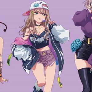 『SSSS.DYNAZENON』女の子たちのえっちなストリート系のエロ衣装のエロイラストグッズ!