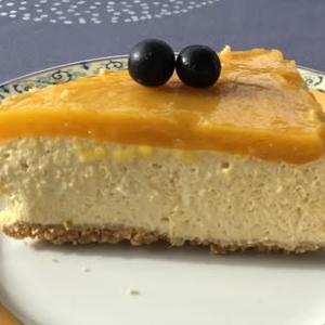 マンゴーのババロワ ケーキとそのバリエーション