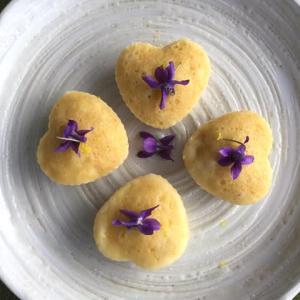 蒸しケーキ4種  柚子2つ チョコ 抹茶きな粉 風味