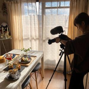 動画撮影dayと通信教育の話