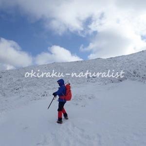 冬の安達太良山とくろがね小屋