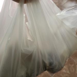 近所の屋台で鶏のから揚げともち米配布祭り☆