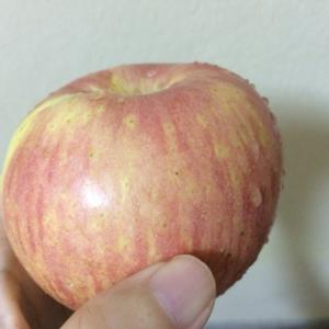 台風11号?と、ぼけぼけりんご
