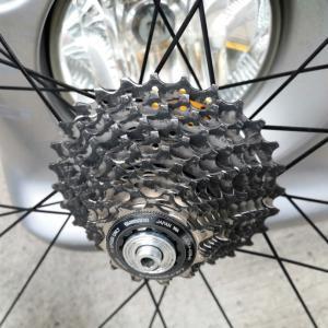 自転車パーツの洗浄と断捨離