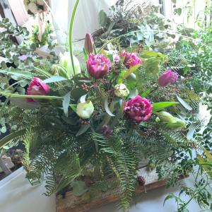 かっこいい チューリップの花束