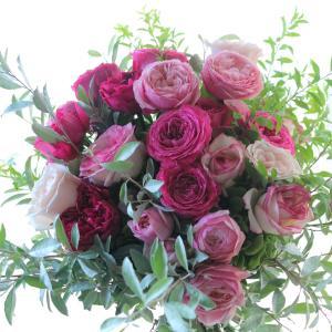 敬老の日に花束を贈りました