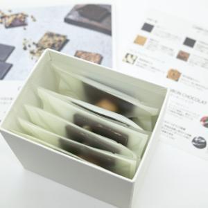 ママノ;カードチョコレート ナッツ3種 6枚入り