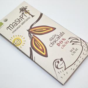 スローウォーターカフェ;マシュピの森のチョコレート カカオ 80%