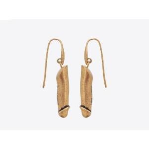 Penis dangle earrings