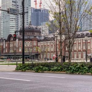 2020年3月31日の東京駅八重洲口の記憶・・・ 街から人の姿が消えていく・・・