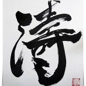 今年度の「書ブログ納め」/私の『今年の漢字一文字』は?