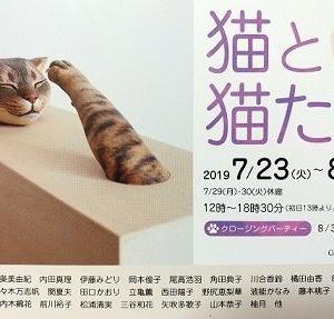 公募展『猫と猫たち』の日程が終了しました。