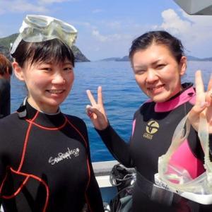 ケラマで体験ダイビング^_^!