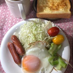 朝ごはんと昼弁当