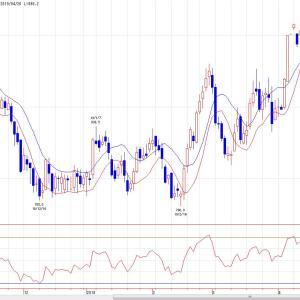 白金標準先物(チャート分析)