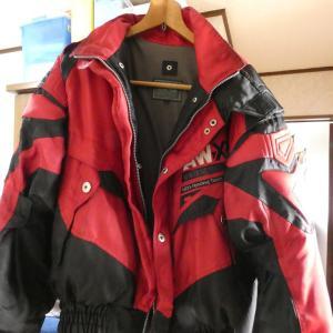 ジャケットのファスナー