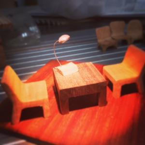 テーブルセット!