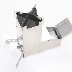 【新品】ブッシュクラフト 薪ストーブ 超軽量 小型 パップテント 収納袋付き ソロキャンプ薪ストーブ ツーリング薪ストーブ