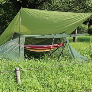 【新品】モスキートネット USGI 蚊帳 ブッシュクラフト 開閉ファスナー bp style Day camp