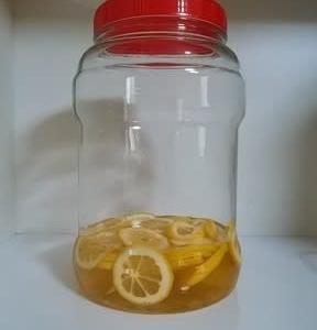 レモン酢を作りました~🍋