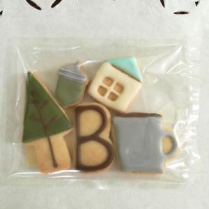 秋のアイシングクッキー&糸巻きクッキー&シナモンクッキー