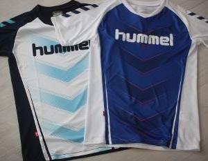 HUMMEL(ヒュンメル)の半袖シャツ