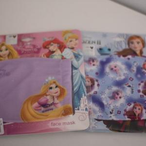 ディズニーの子供用マスク「アナと雪の女王&ラプンツェル」