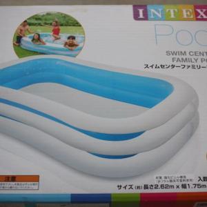 INTEX(インテックス)の大型ビニールプール