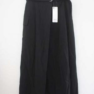 GU購入品♡ベルテッドサイドポケットナロースカート/マイル交換
